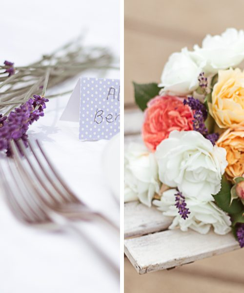 Wedding Inspiration | Lavender & Linen