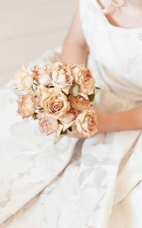 Wedding Inspiration | Faded yellow rose
