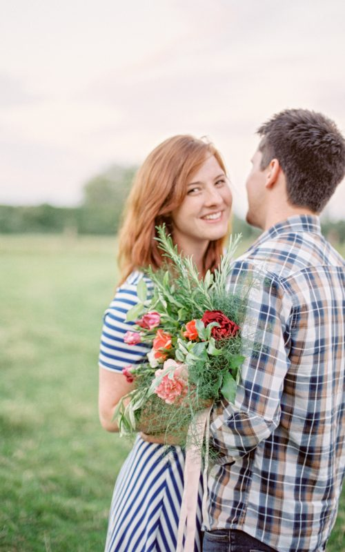 Couple Session in the Countryside   Summer Romance