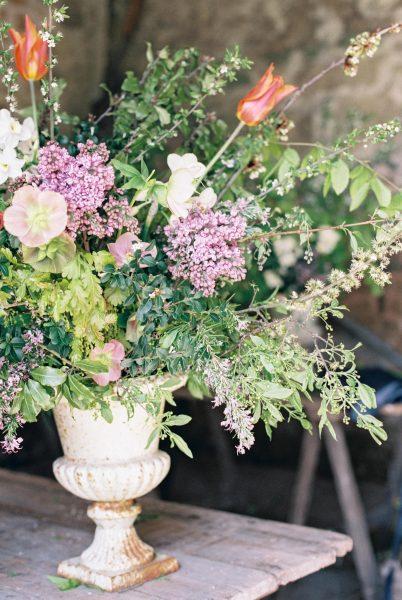 Wild Romantic Floral Design Workshop | Liz Baker Photography