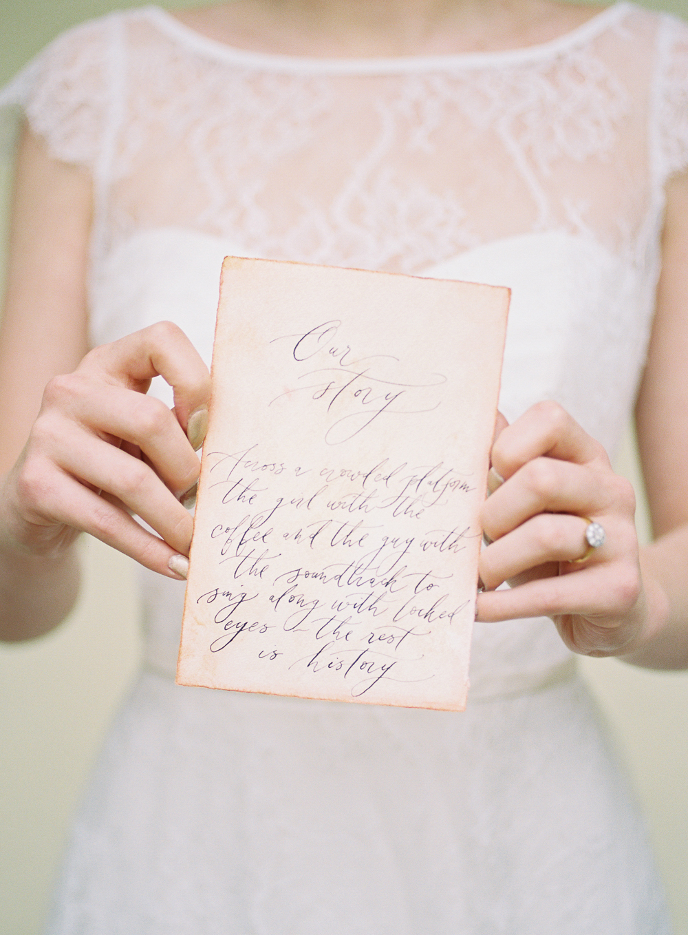 Five tips for Fine Art Wedding Stationery